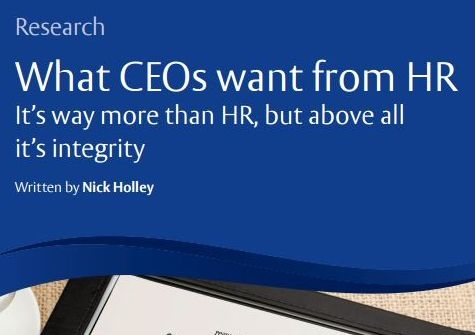 What CEOs want from HR Departments